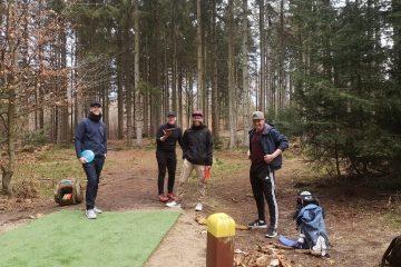 Disc golf holdspil