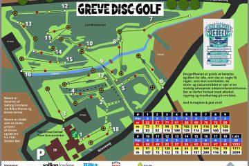 Greve Disc Golf Bane oversigt