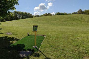Næstved Disc Golf Bane Hul 1 Foto